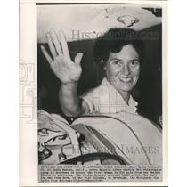 1963 Press Photo First woman solo pilot to fly from United States to Australia