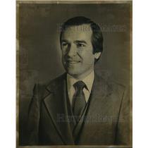 1979 Press Photo Brian Peck, Australian First Secretary of Information