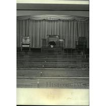 1981 Press Photo Trinity Bible Church in Prichard, Alabama - amra02950