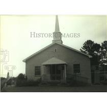 1981 Press Photo Toxey United Methodist Church, Toxey, Alabama - amra02730