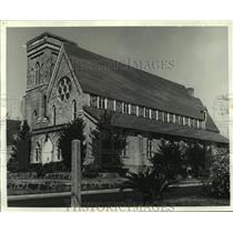 1981 Press Photo Trinity Episcopal Church exterior view, Mobile - amra03362