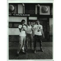 1983 Press Photo Rock Band Shockabilly - hca52620