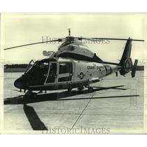 1984 Press Photo U.S. Coast Guard helicopter, Alabama - amra06747