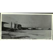 1986 Press Photo Passenger Terminals in New Airport, Mobile, Alabama - amra06309