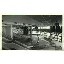 1986 Press Photo View of Lobby From Second Floor of New Airport, Mobile