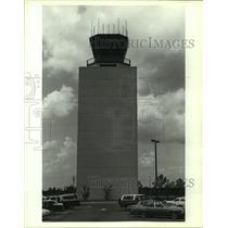 1989 Press Photo Control tower at Alabama airport - amra05965