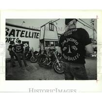 1989 Press Photo Northwest Chapter of San Jacinto High Rollers Motorcycle Club