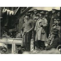 1922 Press Photo People Gather at Knickerbocker Theatre Disaster in Washington