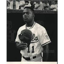 1991 Press Photo Hal McRae of the Kansas City Royals - lrs09218