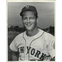1967 Press Photo Frank Lary of the New York Mets - lrs09343