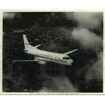 Press Photo Kendell Airlines of Wagga Wagga during flight - lrx41240