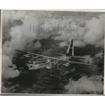 1957 Press Photo C-130 Hercules Aircraft Service - lrx42026