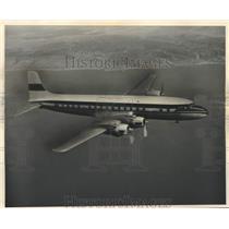 1959 Press Photo Delta Airline Airplane during flight - lrx42433