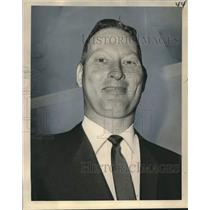1965 Press Photo Edward N. Lennox, Chairman of the New Orleans Aviation Board