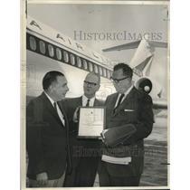 1965 Press Photo Inaugural flight of the Douglas DC-9 Fanjet aircraft