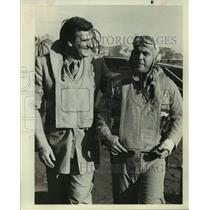 Press Photo Pilots Don French and Jeff Mackay - sap32606