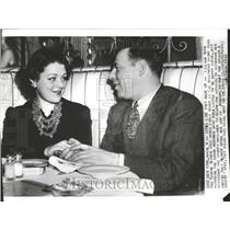 1940 Press Photo Lillian Roth Actress - RRV75357