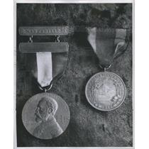 Press Photo West Indies Sampson Medal Nicaraguan Marine- RSA16781