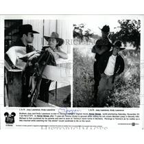 2001 Press Photo Horse Sense Disney Channel Movie Mich - RRW83331