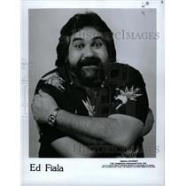 1988 Press Photo Ed Fiala Comic Writer - RRW11139