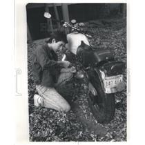 1986 Press Photo Tiger Lady - RRU81971