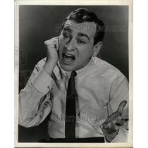 1960 Press Photo Actor Comedian Shelley Berman - RRW20301