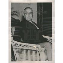 1937 Press Photo Harry K. Thaw Pittsburgh Miami Beach - RRV00883
