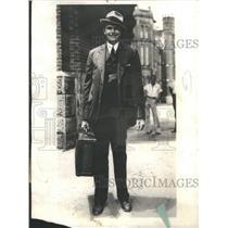 1934 Press Photo Luke Lea Jr. NC Central Prison Raleigh- RSA40571