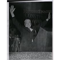 1964 Press Photo David McDonald president steelworkers - RRW97857