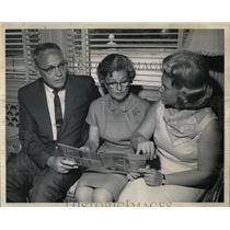 1966 Press Photo Mrs John Love wife Colorado governor - RRW83737