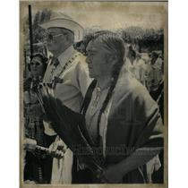 1977 Press Photo James Cox & Eddie Box Native Americans - RRX32327