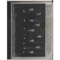 1971 Press Photo Supreme Court Justices Pentagon study - RRX91377
