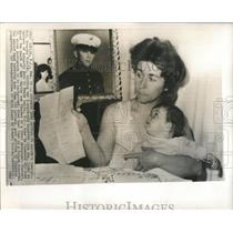 1966 Press Photo Mrs George RisoldI Lisa Ann Iselin - RRX82597
