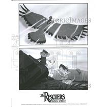 1990 Press Photo Disney Rescuers Down Under - RRV34891