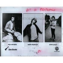 1981 Press Photo Mark Knopfler Dire Straits - RRX23457