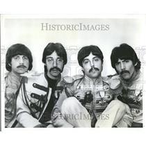 1990 Press Photo Tribute Band The Beatle Lookalikes - RRV81291