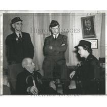 1942 Press Photo William Livingston Edward Nash- RSA50293