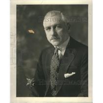 1925 Press Photo Arthur Hammerstein Oscar Producer Film- RSA54937