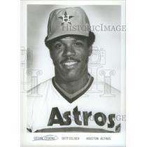 1979 Press Photo Houston Astros Outfielder Cedeno Roster Portrait - RSC28339