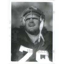 1981 Press Photo Bob Golic New England Patriots - RSC28363