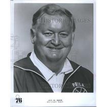 1977 Press Photo Assistant Coach Jack McMahon of the Philadelphia 76ers