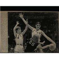 1969 Press Photo Denise Long,5-11,female drafted in NBA - RRW07427