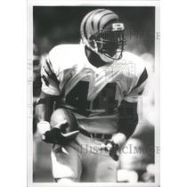 1993 Press Photo Bengals No. 44 Derrick Fenner - RSC26105