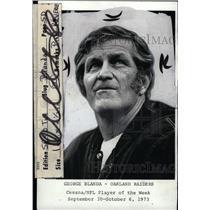 1973 Press Photo George Blanda, Oakland Raiders player - RRW74147