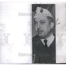 1959 Press Photo Veterans Foreign Wars Louis Feldmann commander Moslem Nation