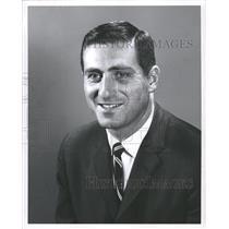 1967 Press Photo Allan Roy Edwards Pittsburgh Penguins - RRW48289