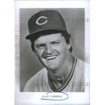 1976 Press Photo Clay Carroll pitcher Major League Baseball Milwaukee Braves