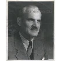 1944 Press Photo Dr. Arthur H. Compton, Chancellor of Washington University, St.
