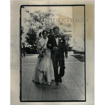 1979 Press Photo Mr./Mrs. William S. Hazlett/Wedding - RRX32601