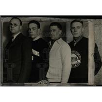 1932 Press Photo Harsh Billings Cross-Country Olympics - RRW77713